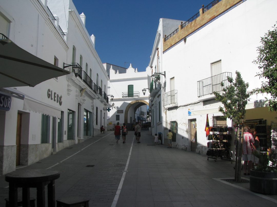 The ancient moorish town of Conil De La Frontera, Andalucia