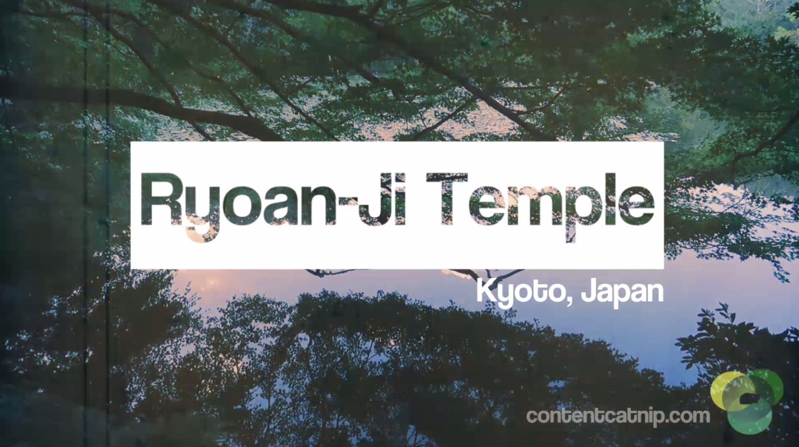 Travel: Ryoan-ji temple and gardens, Kyoto