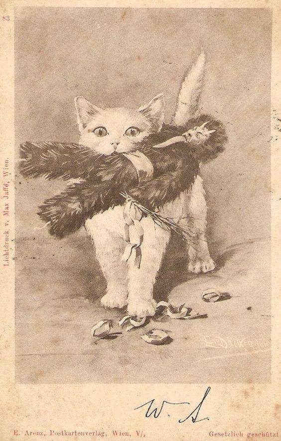 Cat versus Krampus
