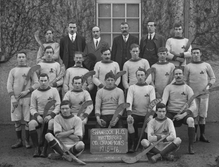 Every Picture Tells A Story: Shamrock Hurling Club in Waterford, 1915