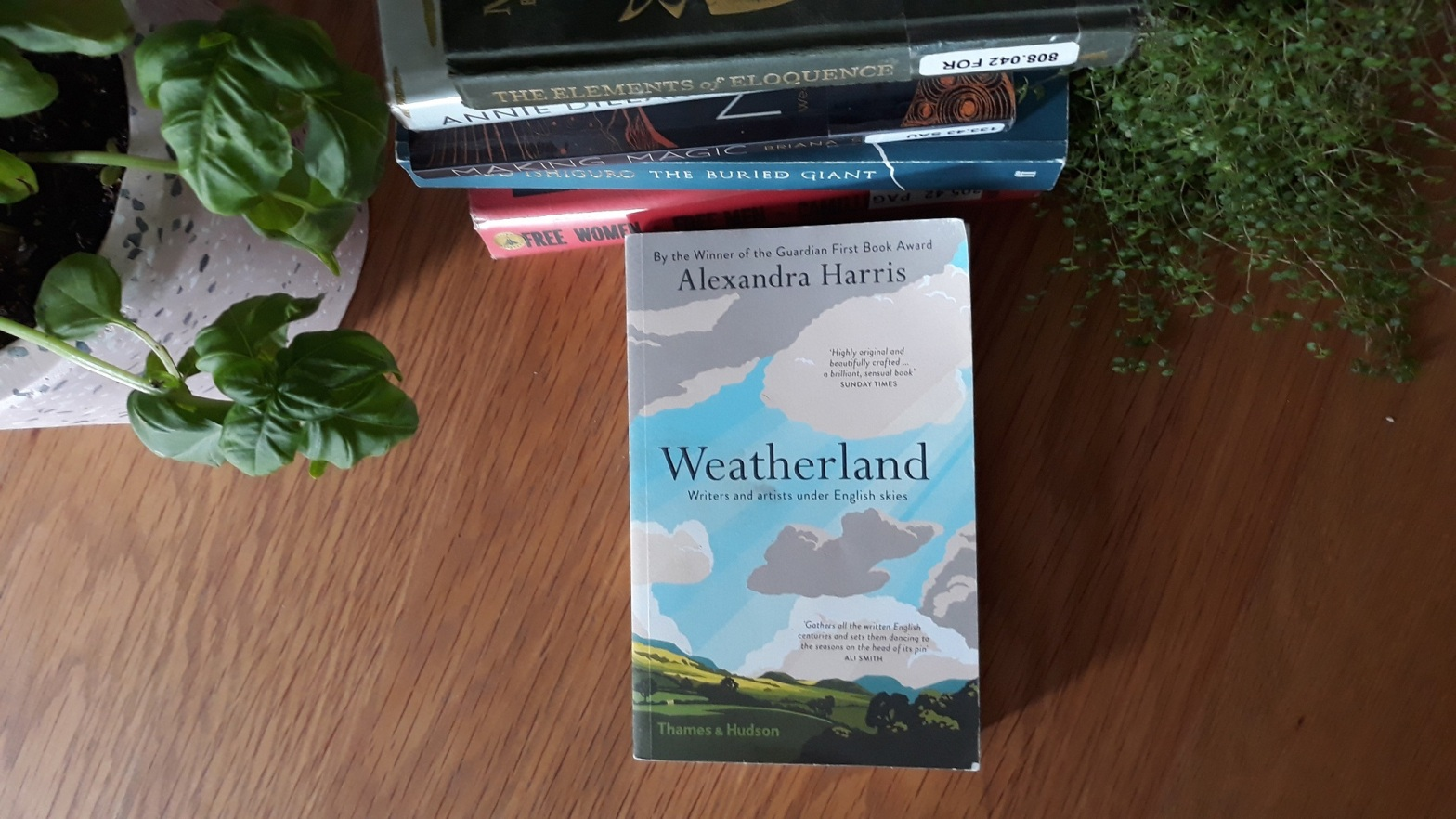 Book Review: Weatherland by Andrea Harris