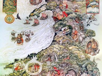 Beautiful maps & beautiful Welsh tales: The Mabinogion
