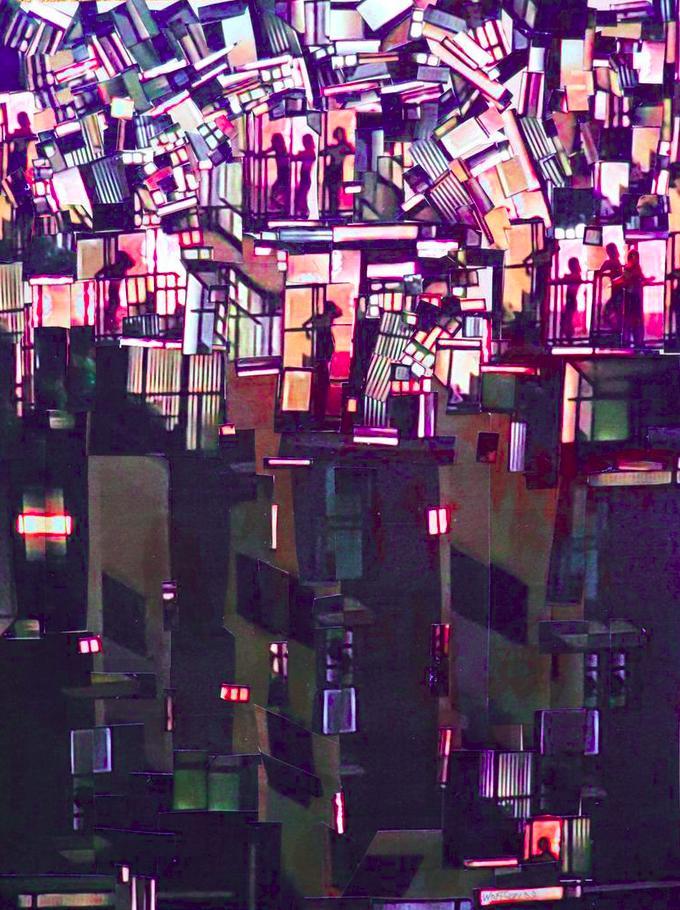 A Million Ways To Die Collage by Wayne HW Wolfson