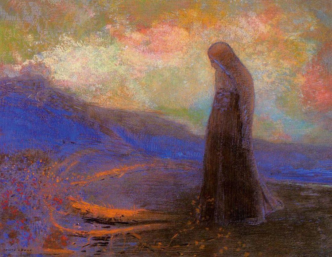 Reflexion by Odilon Redon