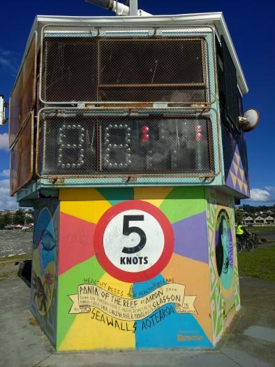 The Maori legend of Pania: Kaitiaki and taniwha of the reef retold in street art