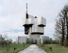 Otherworldly Abandoned Soviet Monuments: Monument in Petrova Gora