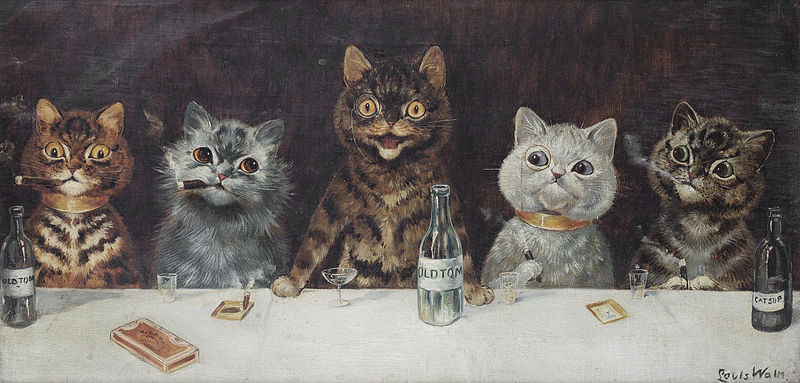 "Louis Wain ""The Bachelor Party"" (1939)"