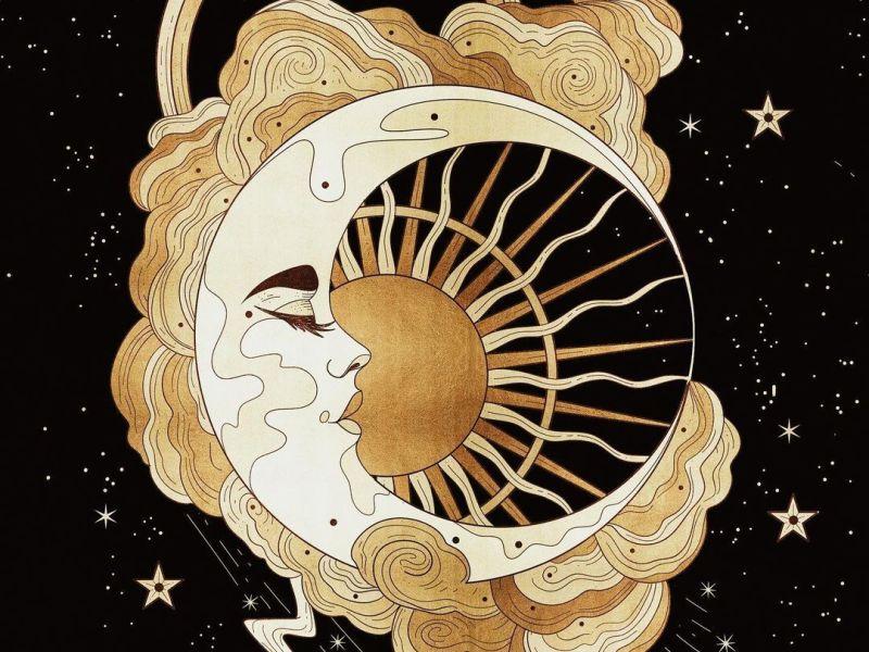Cocorrina's a whimsical moon art