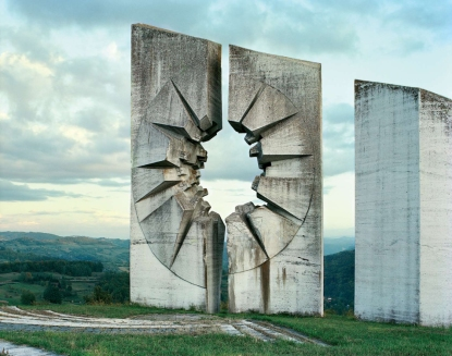 Otherworldly Abandoned Soviet Monuments: Kadinjača