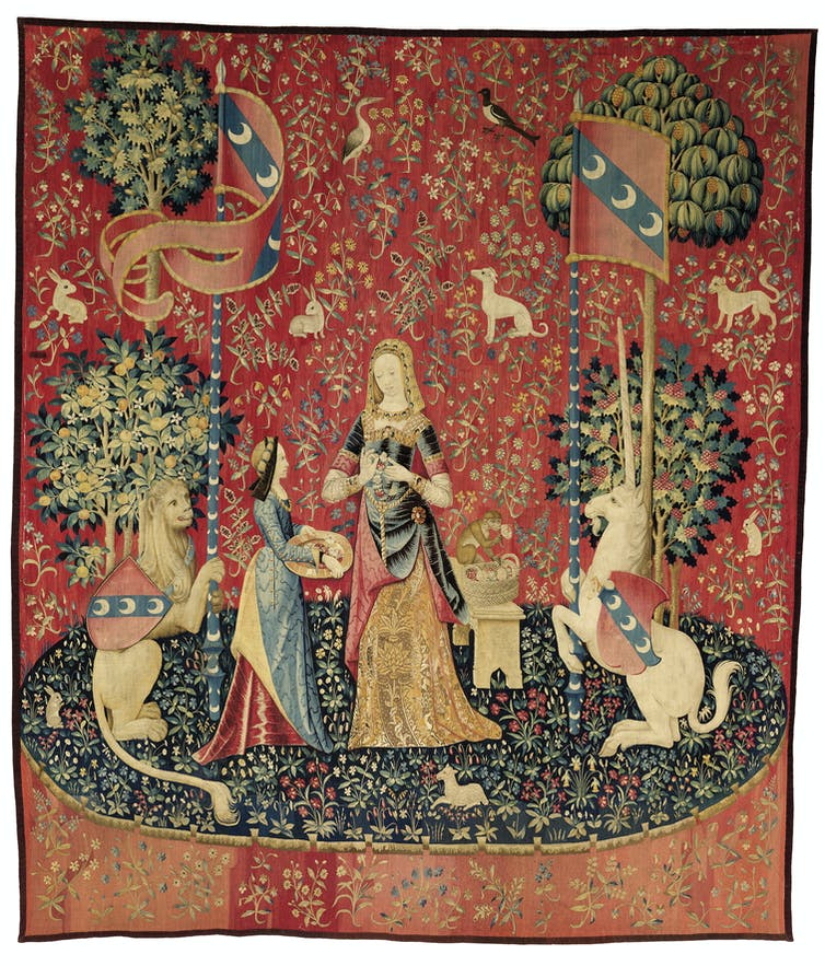 The symbolism of The Lady and the Unicorn tapestry cycle