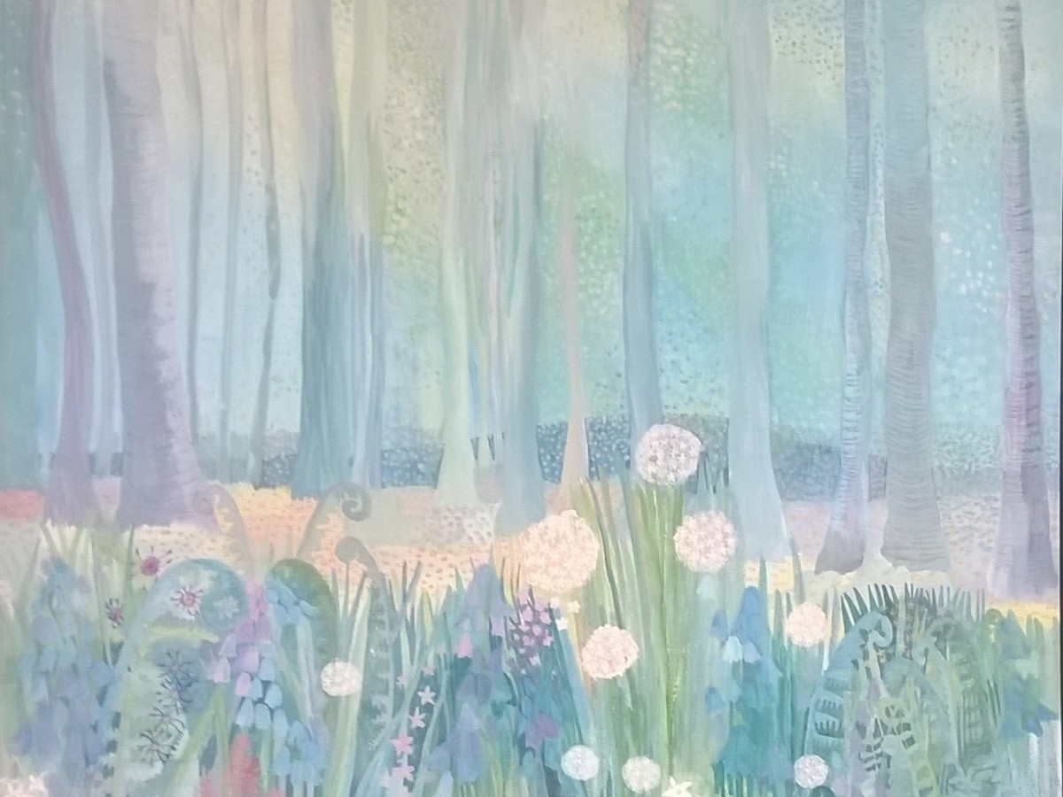 Blue Bells by Jane Cornwell https://www.etsy.com/uk/listing/838239961/blue-bell-woods-campsie-glen