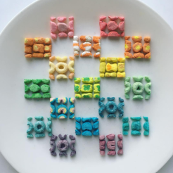 Adam Hillman's symmetrical foods are oddly satisfying