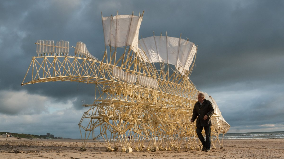 The Strandbeest and it's glittering seaside evolution