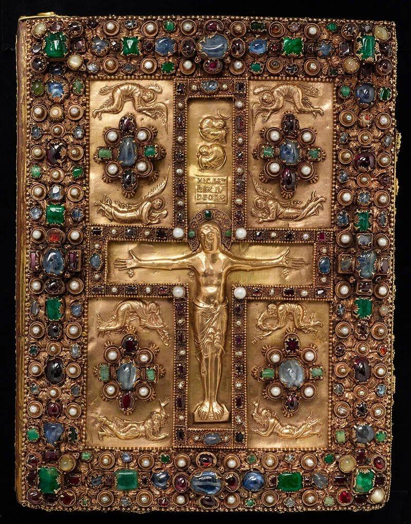 The bewitching bejewelled Lindau Gospels