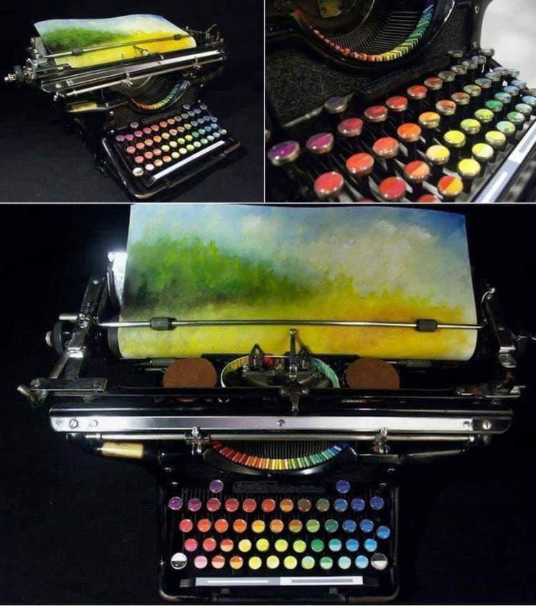 Writing and art synesthesia