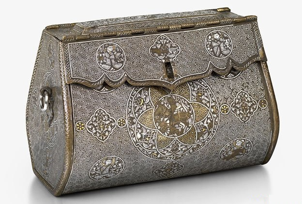 A woman's purse from the 14th century in Iraq