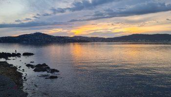 Wellington coast at dusk, copyright Content Catnip 2021