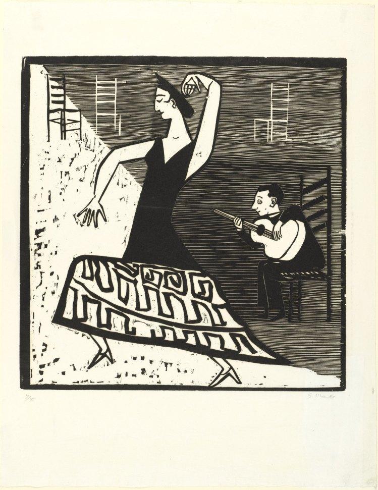 Gerhard Marcks; La Farruca, 1951