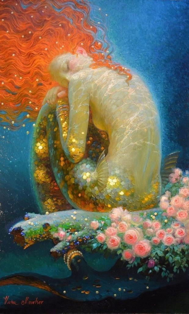 Victor Nizovtsev's sublime fantasy art