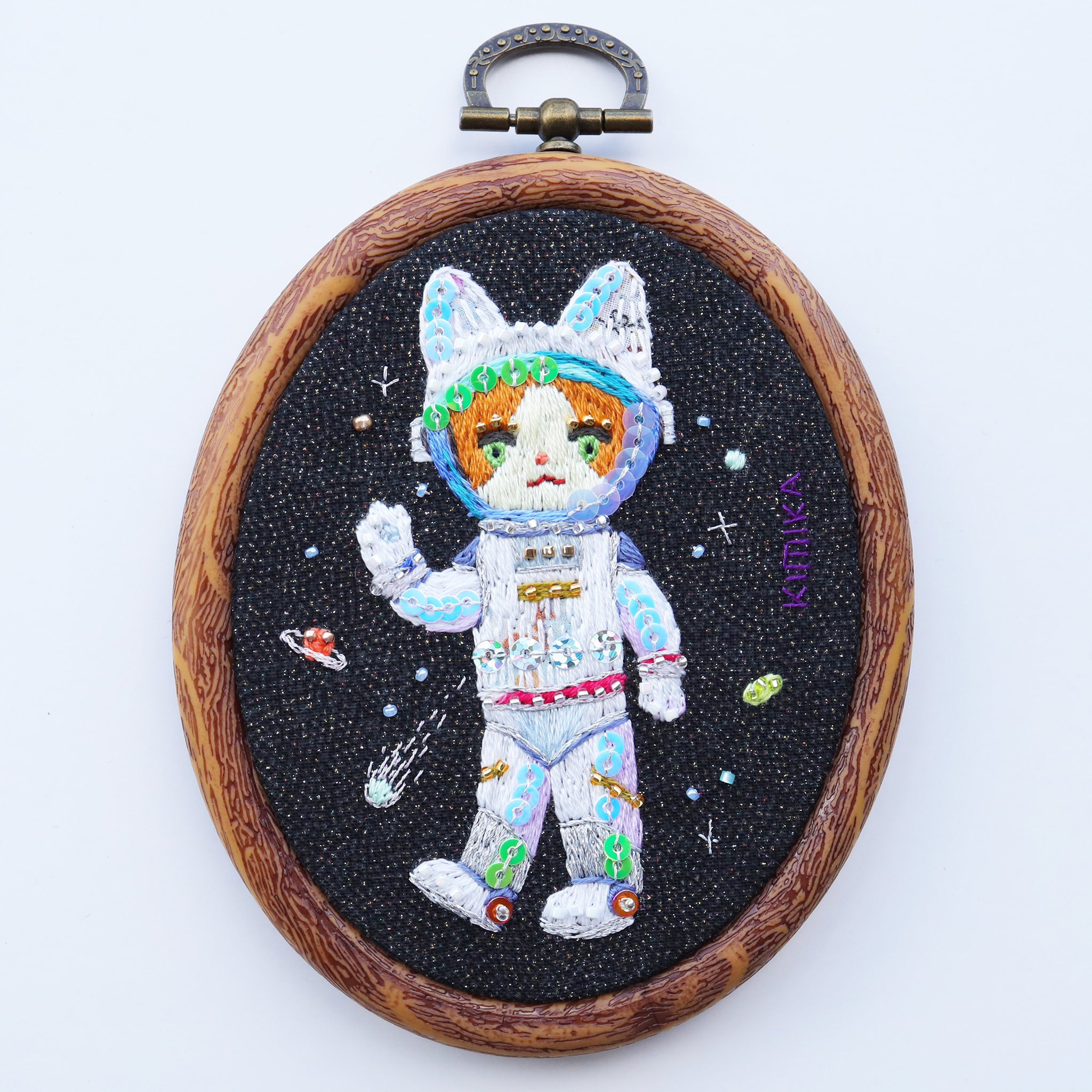 The cat who became an astronaut by Kimika Hara