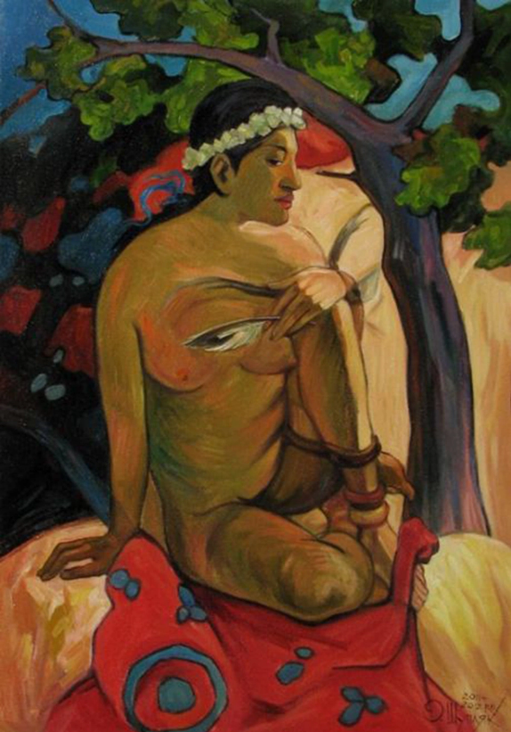 Oleg Shupliak's swirling surrealism and optical illusion art