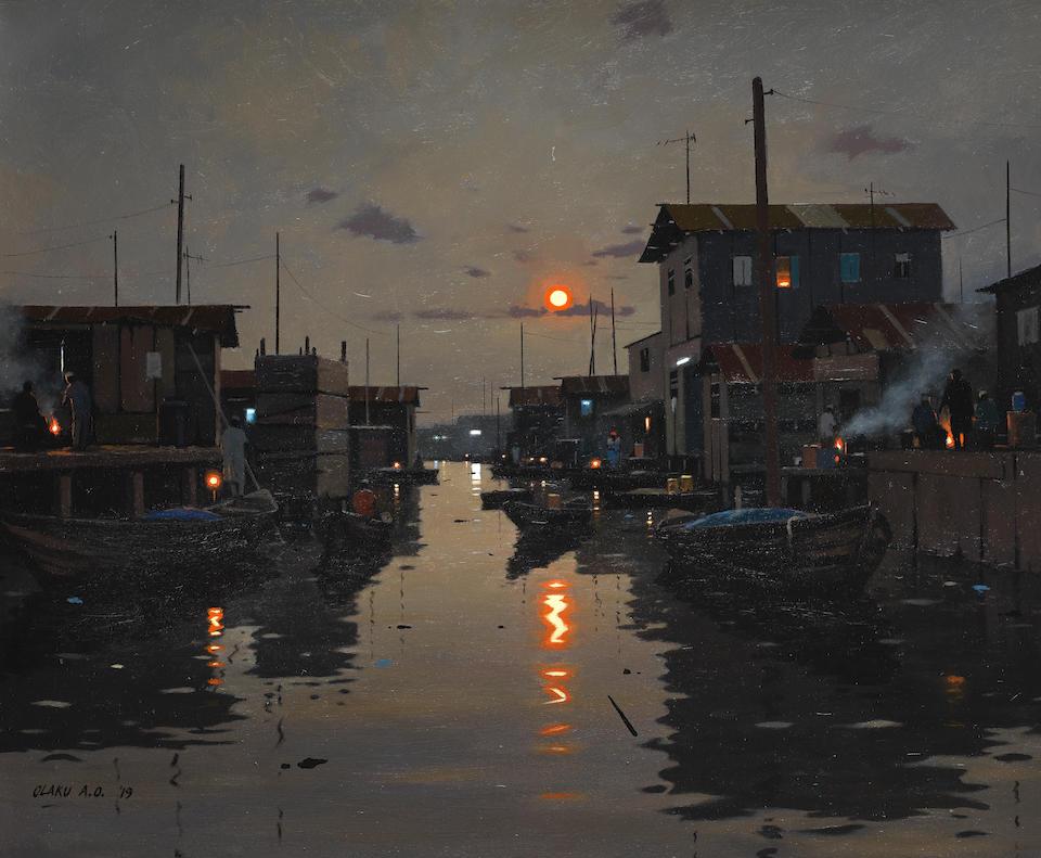 Makoko Retreat' by Abiodun Olaku