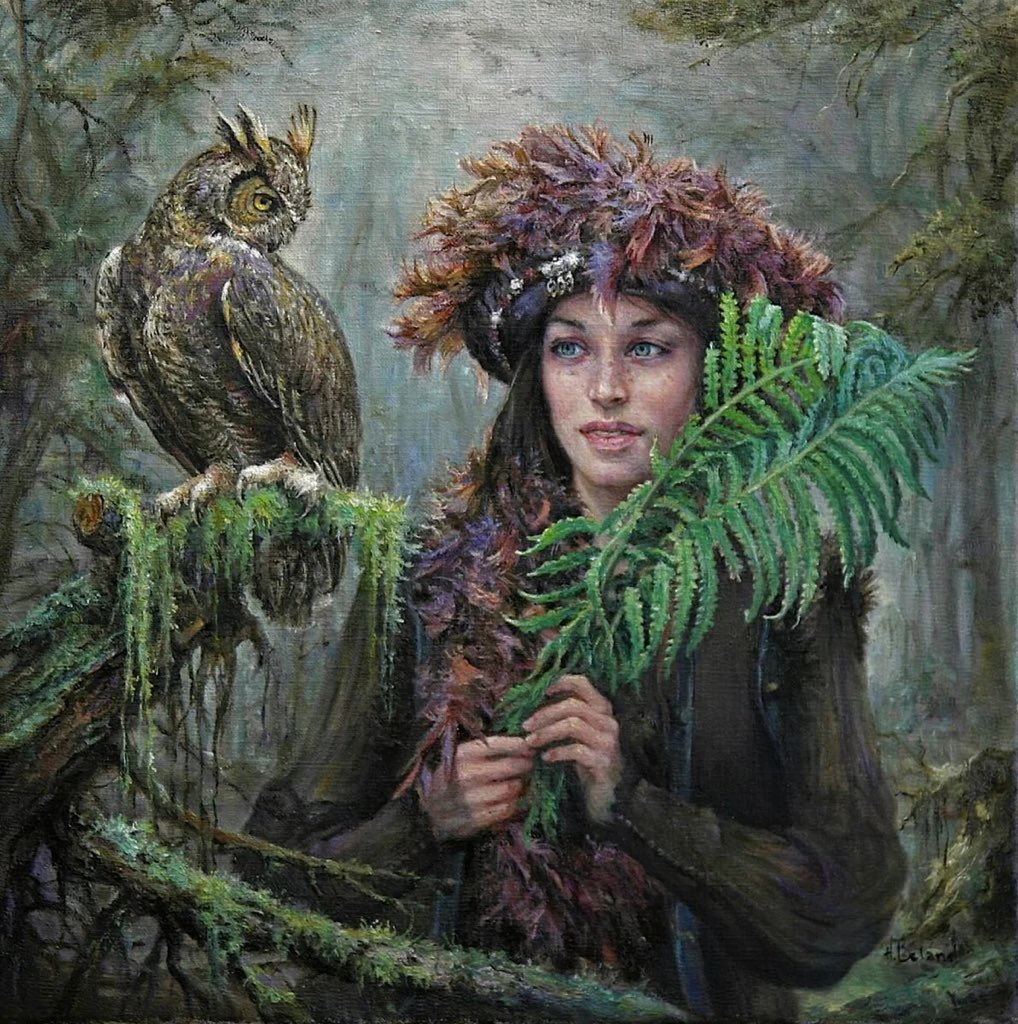 Goddesses of the Forest by Hélène Béland