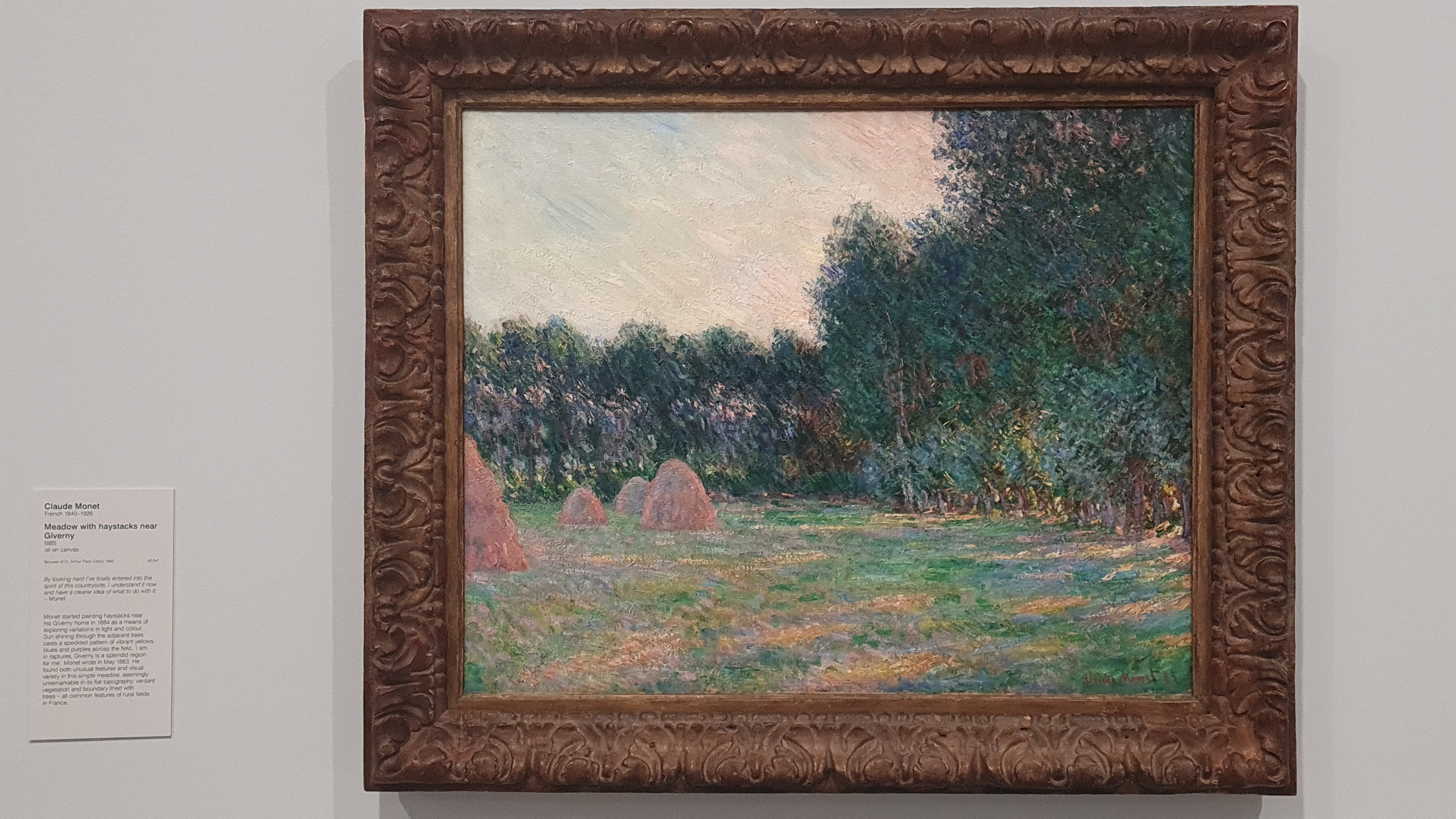 Meadow with haystacks in Giverney by Claude Monet, Content Catnip