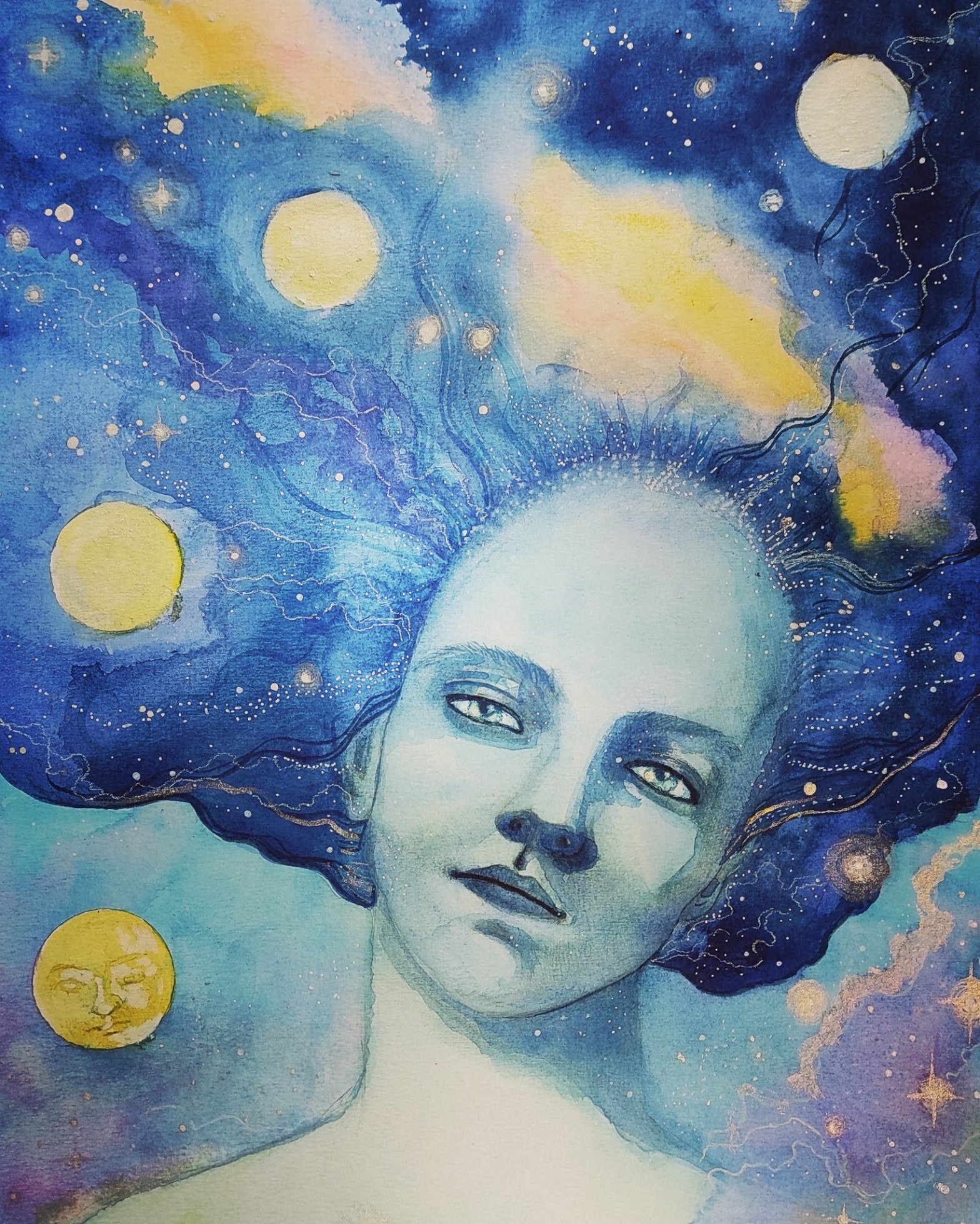Dreamy art by Googie McCabe